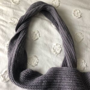 H&M Accessories - 4 brown gray plaid and green scarves